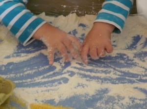 Giochiamo con la farina